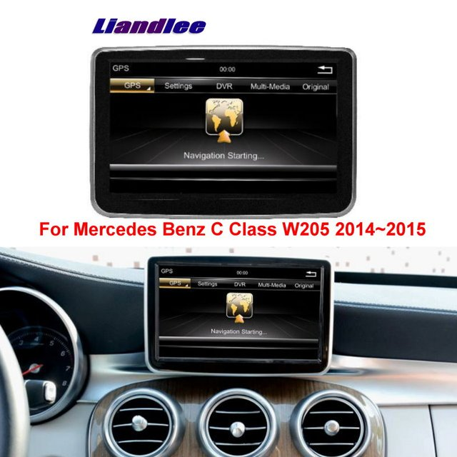 US $532 84 12% OFF|Aliexpress com : Buy Liandlee 2din For Mercedes Benz C  Class W205 2014~2015 Car Android Radio GPS Maps Navigation player BT WIFI  HD