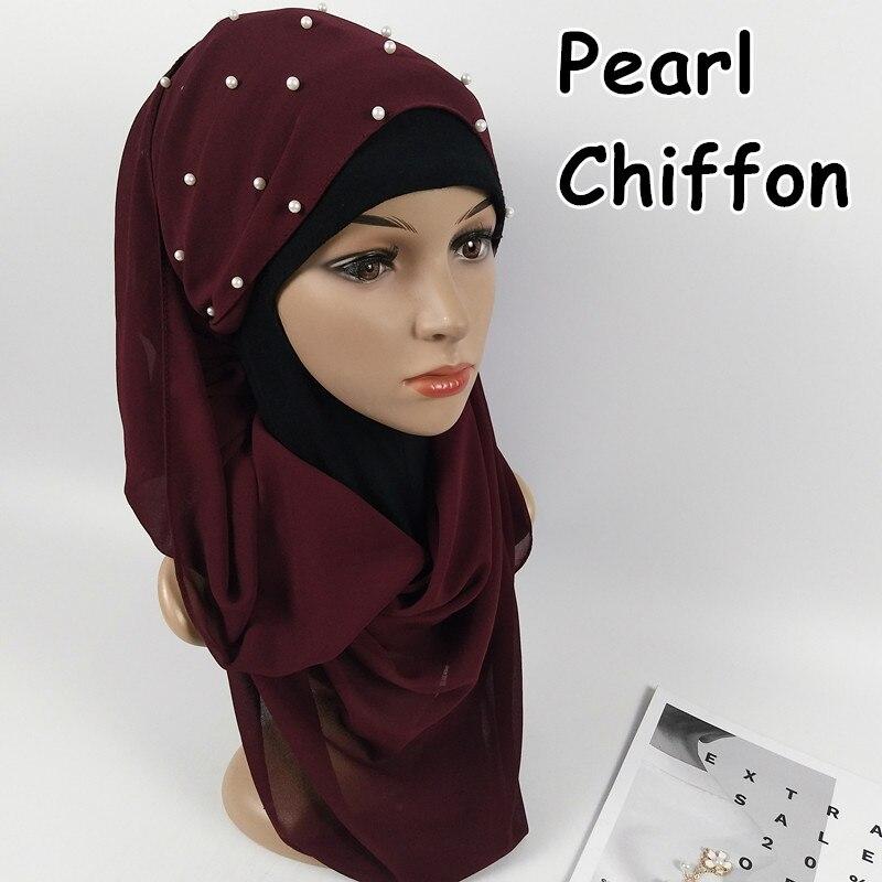D12 High quality pearl bubble chiffon hijab   wrap   shawls women   scarf     scarves     wrap   headband long 180*75cm 10pcs/lot