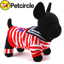 petcircle on sale pet dog clothes navy dog coats winter military dog hoodies for chihuahua size XXS-L pet froducts for dog cat