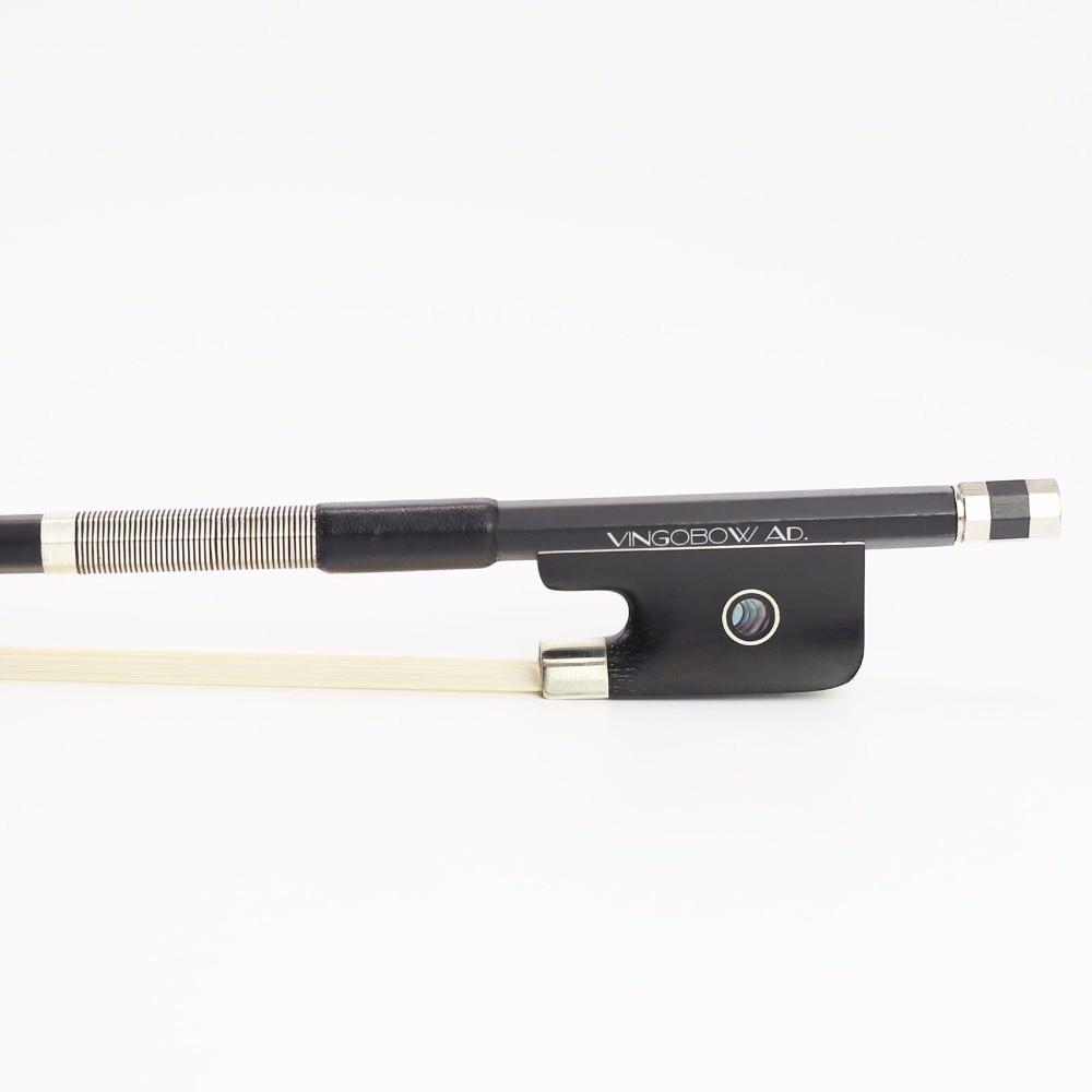 TRANSPORT GRATUIT 4/4 Full Size 100C Fibra de carbon Balck CELLO BOW Bai de calitate Ebony de bună calitate și păr alb Bărț Cello Piese Accesorii