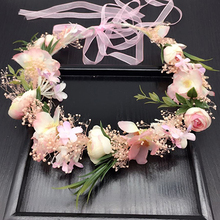 Buy White Flower Crown And Get Free Shipping On