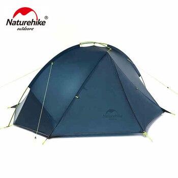 NatureHike 1.6 Kg Tagar 2 Person Tent Camping Backpack 20D Ultralight Fabric NH17T140-J