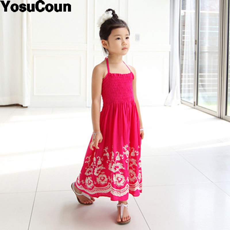 где купить  Girl Dress Kids Clothes Girls Dresses Summer Costume For Children Sundress Princess Dress Girl Sarafan Clothe For Kid Cute Baby  по лучшей цене