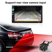 AudioRadio 7 cal 2 Din HD Samochodowy Bluetooth Stereo FM MP3 Samochodowy Odtwarzacz Audio Video Radio MP5 Odtwarzacz Multimedialny z Widok Z Tyłu kamera