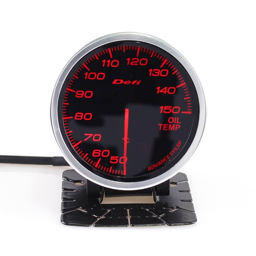 Defi Advance BF 2.5 Inch 60mm 50-150 Degree Oil Temp Gauge Meter Oil Temperature Auto Gauge недорго, оригинальная цена