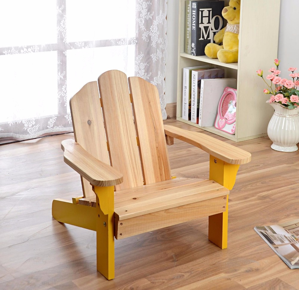 Child Adirondack Chair Kids Outdoor Wood Patio Furniture For Backyard, Lawn  U0026 Deck Or Indoor Use Modern Children Furniture Chair In Children Chairs  From ...