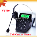 Caller ID phone Noise Cancelling Headset RJ9 plug, dial pad with caller ID