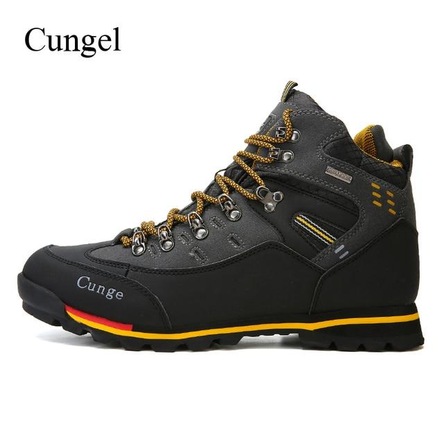: Comprar Cungel Trekking botas zapatillas hombres otoñoinvierno al aire libre senderismo zapatos transpirable impermeable