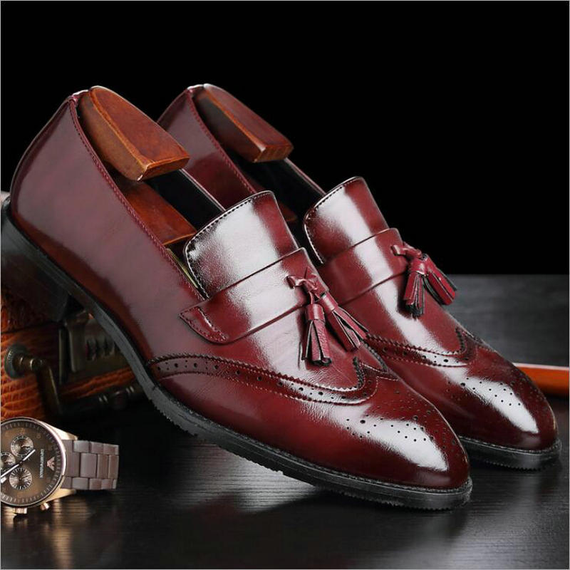 2019 Men Casual shoes breathable Leather Loafers Office Shoes For Men Driving Moccasins Comfortable Slip on Fashion Shoes DC 106