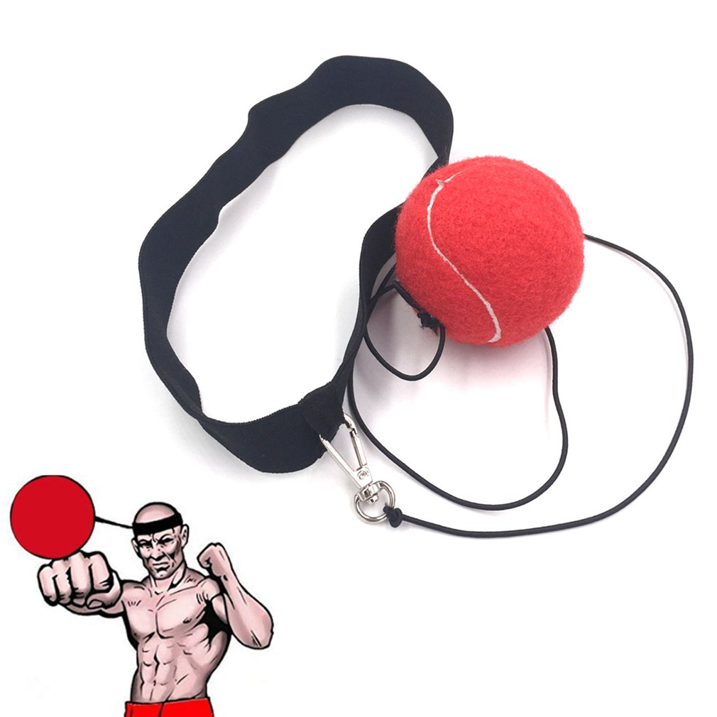Fight Ball Reflex Speed Training Boxing Punch Fight Jab Ball Headband Punch Exercise For Boxing MMA And Other Combat Sport