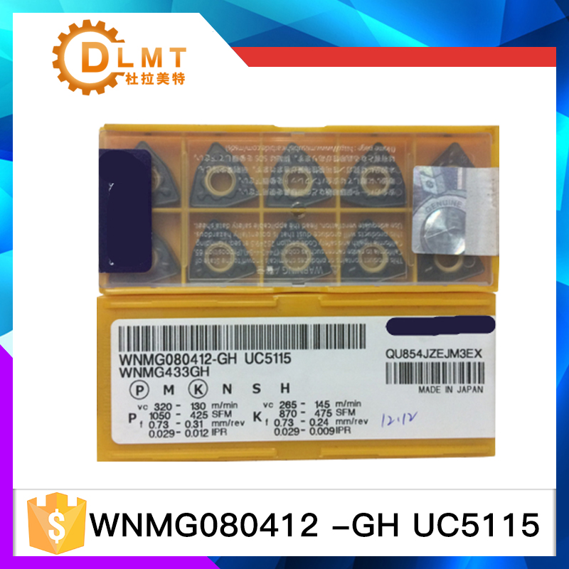 WNMG080412-GH UC5115 50PscWNMG080412-GH UC5115 50Psc