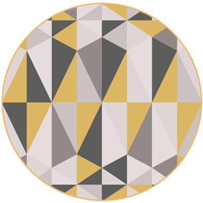 Европейские Простые круглые ковры для гостиной, компьютерное кресло, коврик для детской игровой палатки, ковры и ковровое покрытие для раздевалки - Цвет: 2