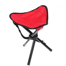 Hot Sale Outdoor Tripod Triangular Folding Stool Chair Foldable Fishing Chairs Portable Fishing Mate Fold Chair