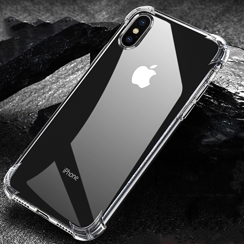 For iPhone X XS Max Case For iPhone 7 8 Plus Shockproof Soft Silicone Phone Case For iPhone XS XR 8 7 Cover Coque Funda