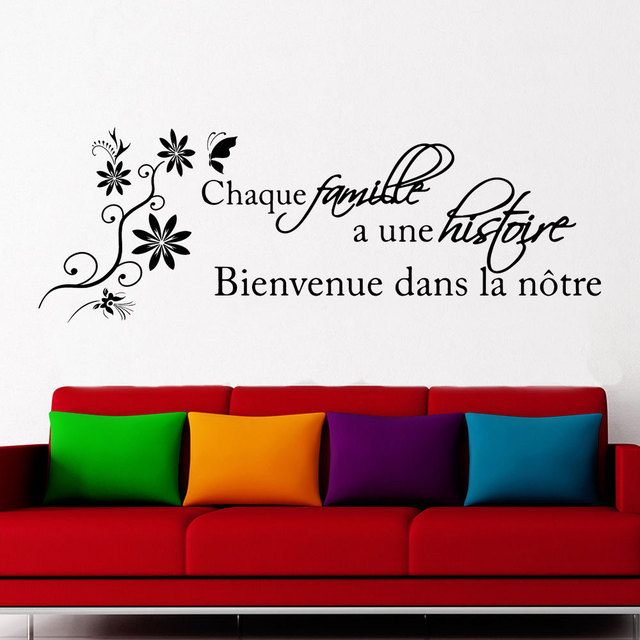 4caa6b31b942c US $12.63 20% OFF|Fench Quotes Decal For Living Room Quotes