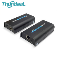 LKV373 HDMI удлинитель 100 м Ethernet сети передатчик RX TX 1080 P HDMI приемник отправителя для Cat5/5e/ 6 RJ45 ethernet tv маршрутизатор