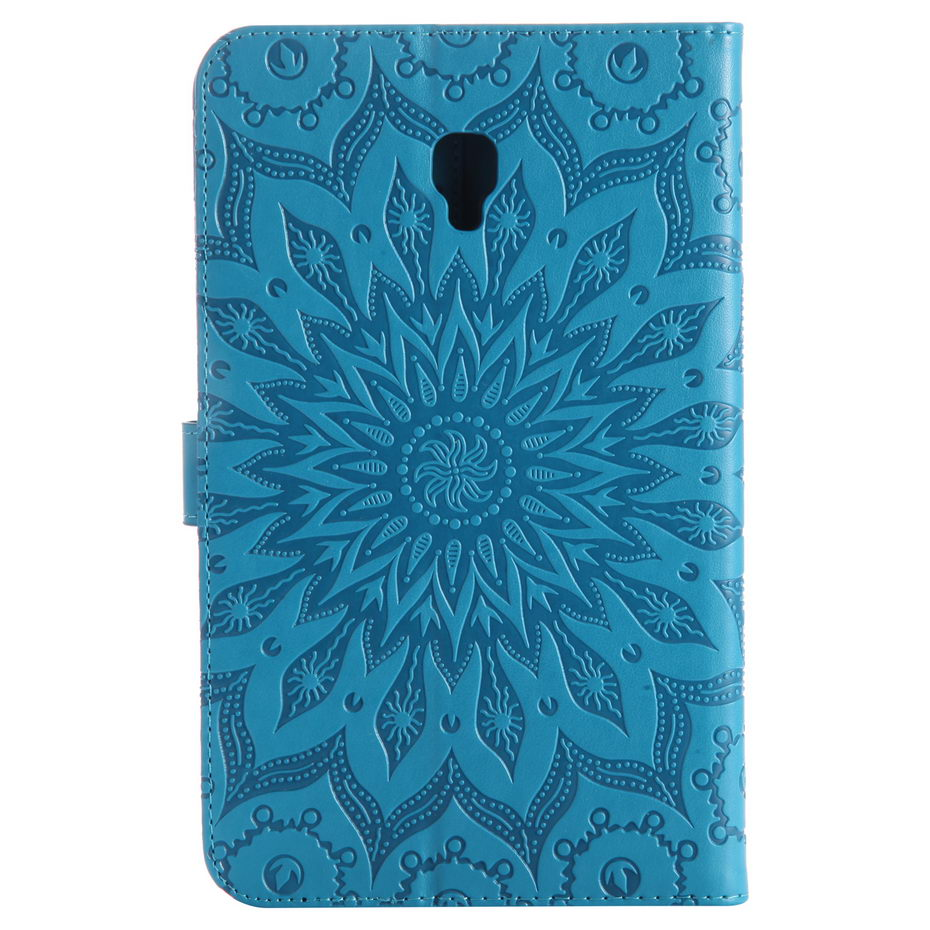3D Embossed Case For Samsung Galaxy Tab A 8.0 SM-T380 T385 2017 8.0 Inch Cover Funda Fashion Tablet PU Leather Shell