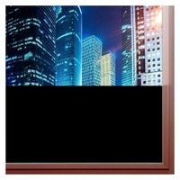Непрозрачные матовые плотные конфиденциальности окно винил Плёнки декоративная наклейка для Ванная комната Офис DIY легко установить клей ...