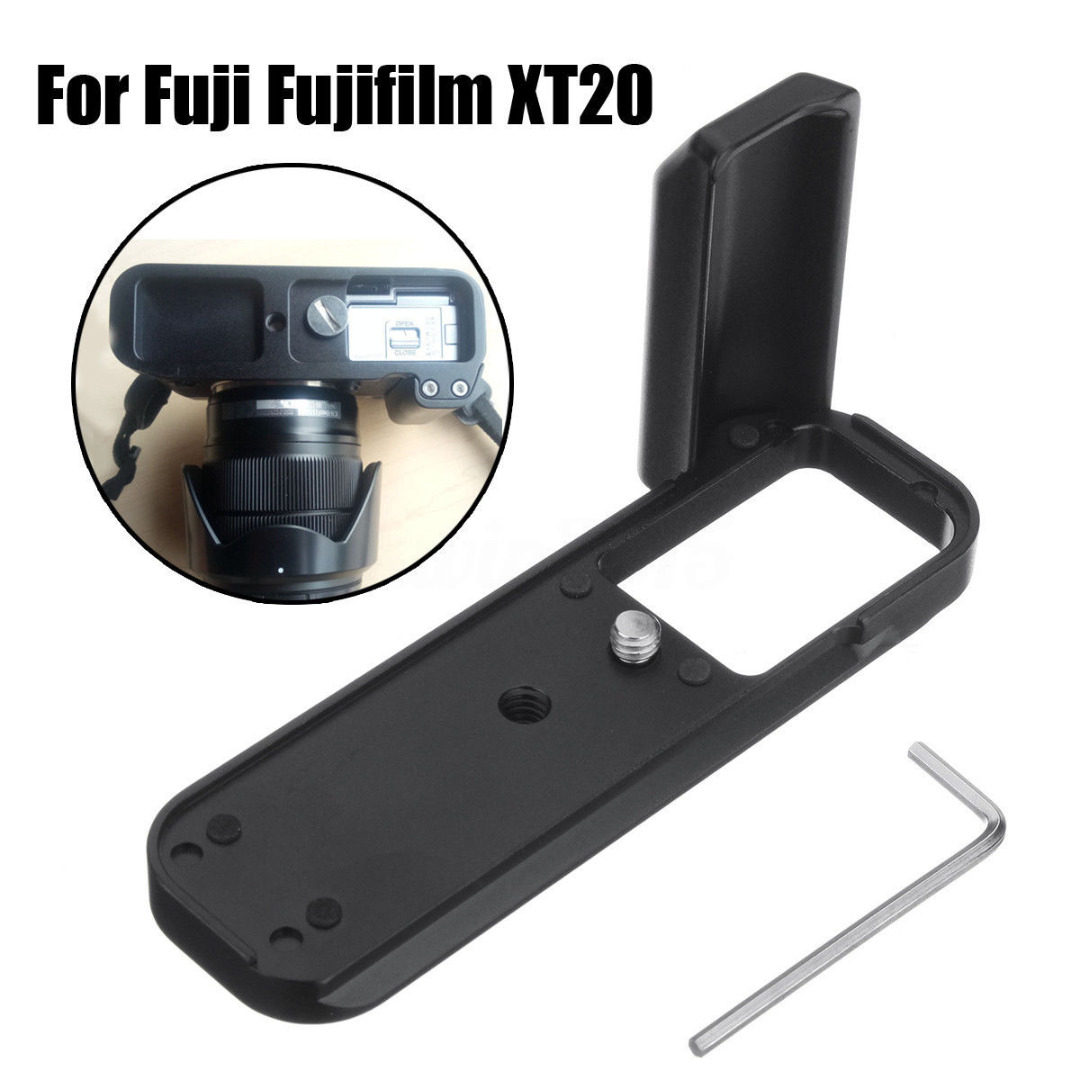 Mayitr 1pc Hand Grip Backet Professional Quick Release Plate Vertical Bracket With Spanner For Fuji Fujifilm XT20 X-T20