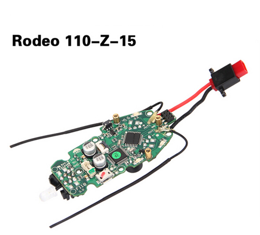 Walkera Rodeo 110 FPV Racing Drone Replacement Rodeo 110-Z-15 Power supply board including receiver & Flight Control original walkera rodeo 150 spare parts 150 z 20 power board