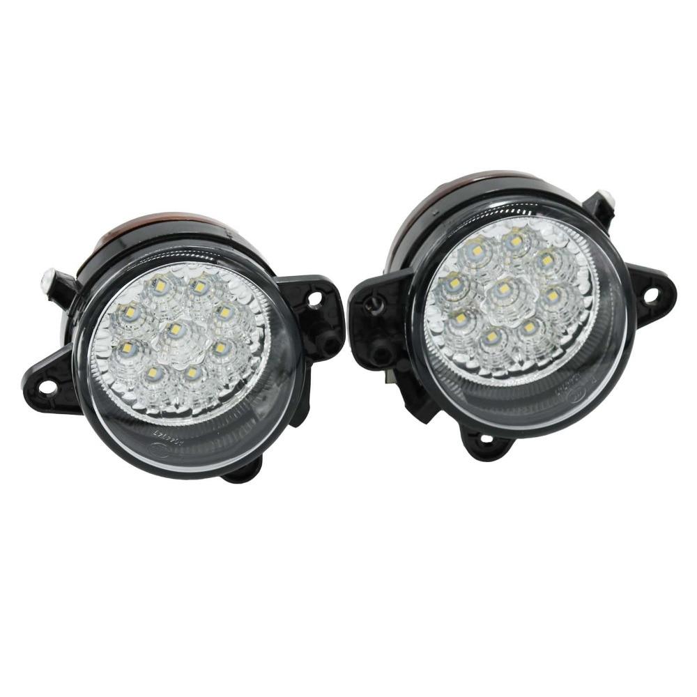 2шт светодиодный свет для VW Транспортер Т5 2003 2004 2005 2006 2007 2008 2009 2010 9 СИД DRL Противотуманные фары противотуманная фара стайлинга автомобилей