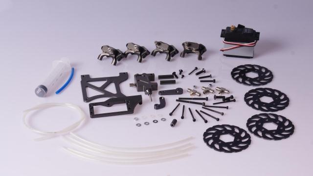 все цены на 4 wheel hydraulic disc brake set for 1/5 scale HPI Rovan baja 5b King motor truck Free shipping 85182 онлайн