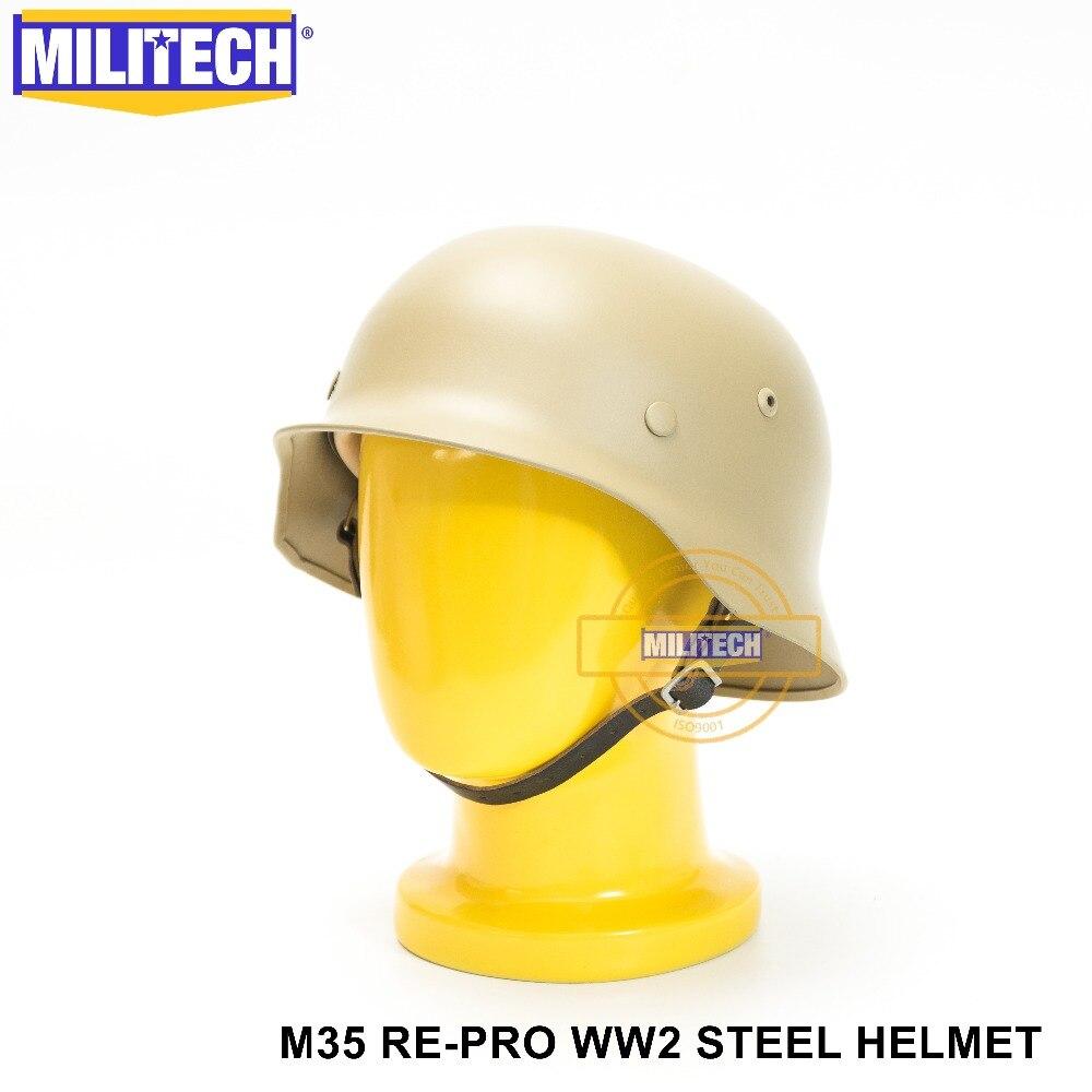 Militech Schwarz Ww2 Deutsch M38 Stahl Helm Ww Ii M38 Schwarz Deutsch Paratroop Helm Echtem Leder Weltkrieg 2 Deutsch M38 Helm PüNktliches Timing Sicherheit & Schutz