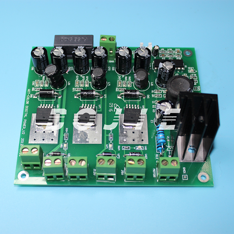 Wit color ultra 9000 power supply board