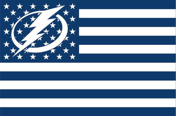 T&a Bay Lightning logo star and stripes Flag with stripes and logo 3ft x 5ft Polyester  sc 1 st  AliExpress.com & Tampa Bay Lightning logo star and stripes Flag with stripes and ... azcodes.com