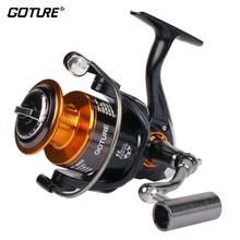 Goture GT4000 Spinning Fishing Reel Coil Metal Spool Carp Fishing Wheel Left/Right Hand Interchange 11BB CNN Handle Pesca
