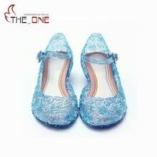 3c58eecb68f MUABABY verano niñas sandalias niños Elsa de PVC zapatos de baile de la  princesa niños zapatos