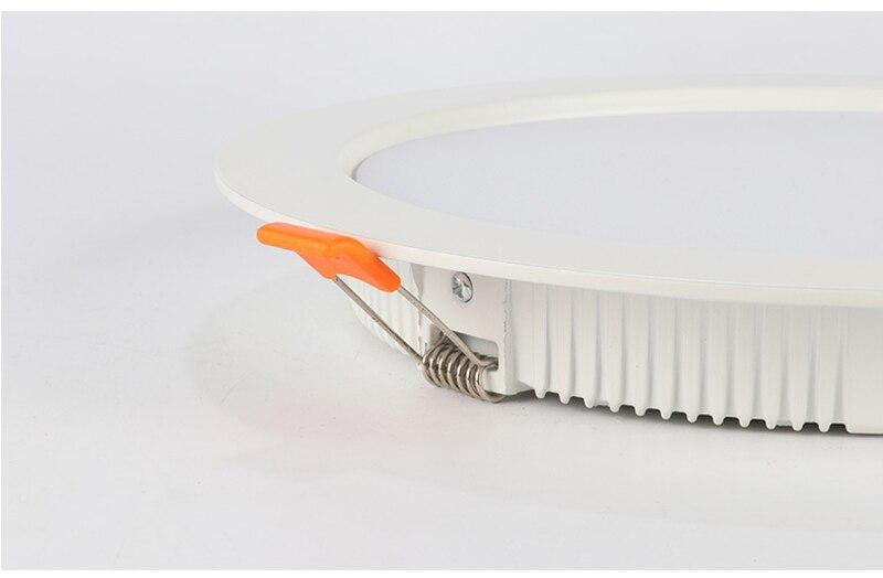 CRI> 80 светодиодный светильник, 3 Вт, 5 Вт, 7 Вт, 9 Вт, 12 Вт, 15 Вт, Толстый Алюминиевый Встраиваемый светодиодный точечный светильник, светодиодный светильник для спальни, кухни, внутреннего освещения