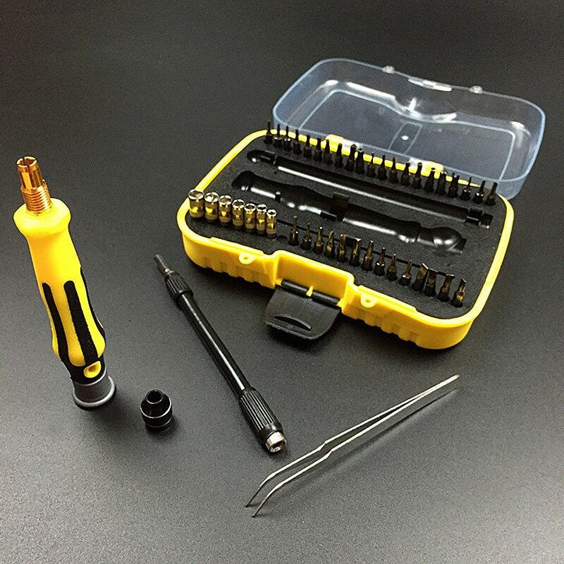 45 in 1 Screwdriver Set Precise Hand Repair Kit Opening Tools for Cellphone Computer Electronic Maintenance Repair Tool VER08T5