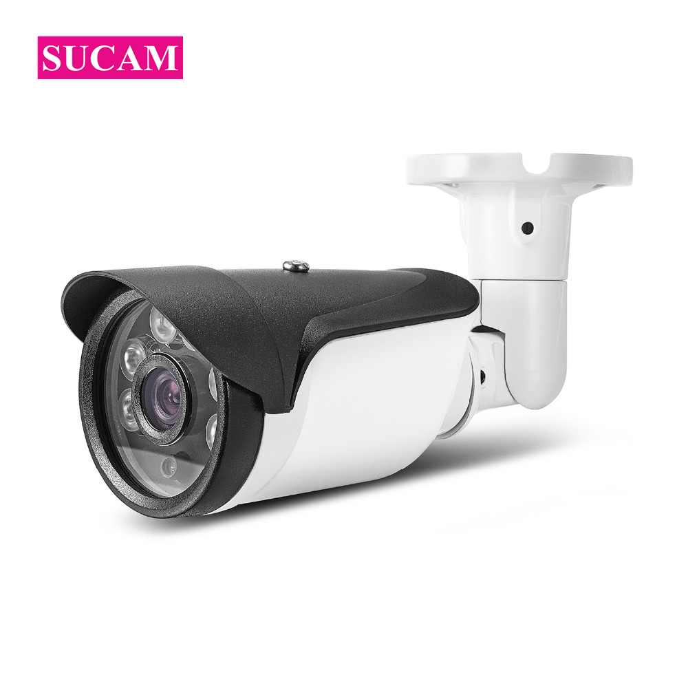 SUCAM High Definition 1080P AHD Security Cameras 6 Array Led Lights 30 Meters IR Night Vision Surveillance Analog Camera Outdoor sucam outdoor 180 360 degrees panaromic security ahd camera 4mp infrared night vision video surveillance cameras 20 meters ir