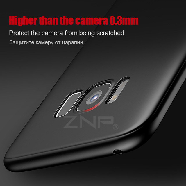 ZNP Ultra Thin Silicone Soft TPU Cover Cases for Samsung Galaxy S6 S7 Edge S8 Plus J1 J3 J5 J7 A3 A5 A7 2015 2016 2017 Case p30 2