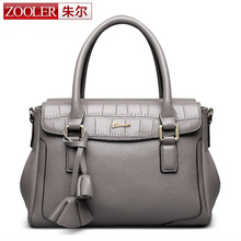 ZOOLER bags handbags women famous brands genuine leather bag women shoulder bags stylish designed bolsa feminina #2359