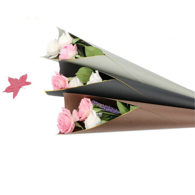 Single Rose Packing Paper Flower Wrapping Paper Florist Bouquet Gift ...
