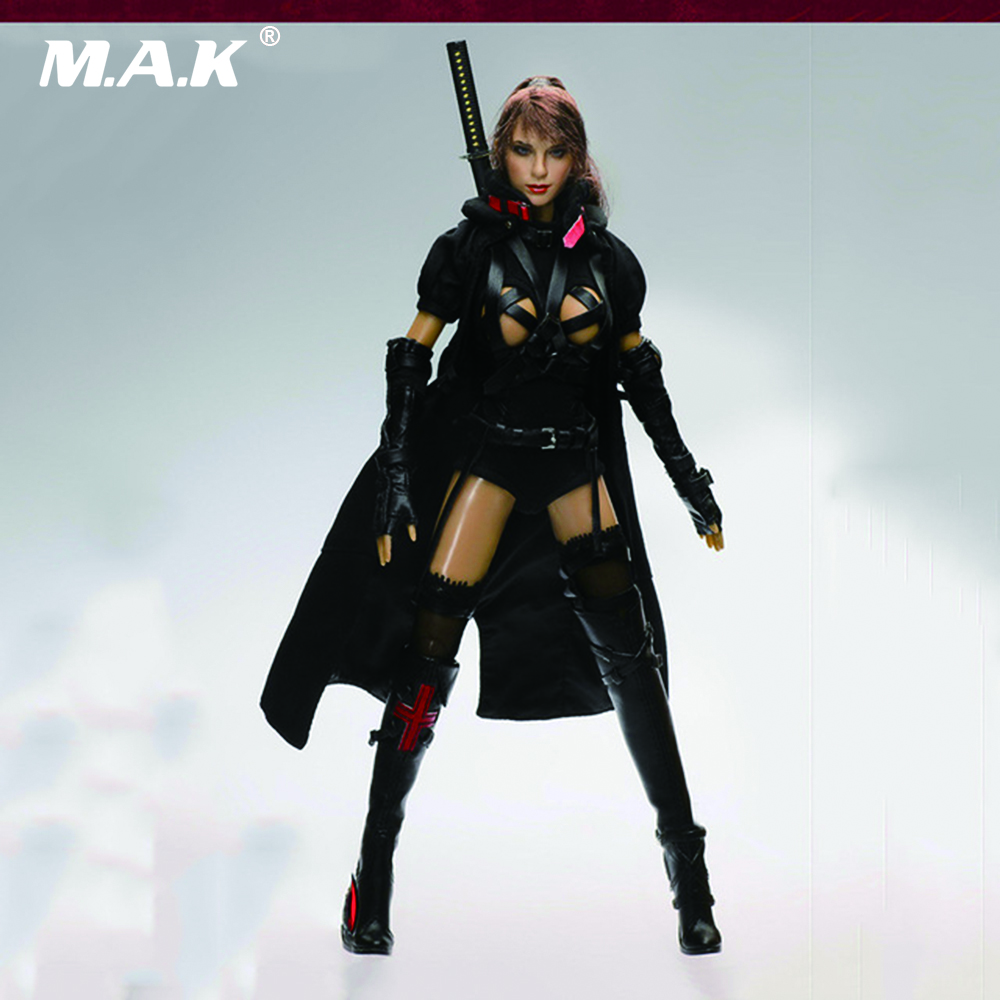 CT002 1/6 Scale Female Action Figure Dark Mourner 12 Action figure Doll Collectible Models Full Set Figures 1 6 scale super flexible figure sexy female cowboy lauren j begins 12 action figure doll collectible model plastic toy