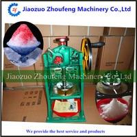 Manual ice crusher stainless steel ice block shaver shaving machine shaved slush ice maker