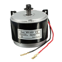 Electric Scooters For E Scooter Drive Speed Control With 24V Electric DC Motor Brushed 250W 2750RPM Chain Electro Motor Two Wiri