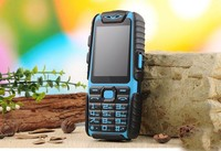 Guophone A6 Mobile Phone Daily Waterproof Shockproof Dual Sim 2 4 Flashlight Power Bank Long Standby