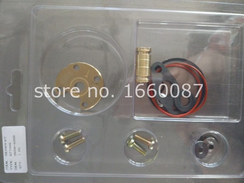 GT1749S 715843 0001 715843 5001S 28200 42600 Turbo Turbocharger repair kit Ffor Hhyundai Starex H1 H200 H 1 D4BH 4D56TCI|starex|starex h1|  - title=