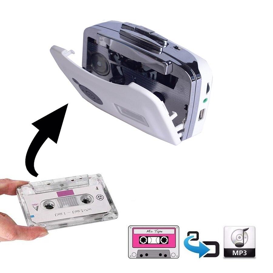 1 шт. лента для ПК USB кассета для MP3 CD цифровой аудио музыкальный плеер конвертер лента для MP3 захват рекордер Автомобильный Стайлинг плееры