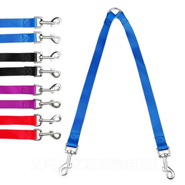 WALK 2 Two DOGS Leash COUPLER Double Twin Lead Walking Leash 5
