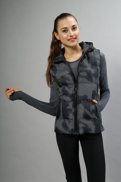 Eshtanga woman Vest Top Quality Waterproof Winter Vest Sleeveless Waistcoat Vest Outdoor down jacket Keep Warm Coat with hood new heated down vest usb charging vest skiing hiking camping winter men vest down keep body warm blue black size s xxl