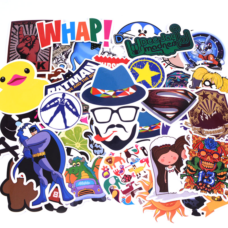 50pcs//pack A2 Anime Sticker Kids Toy Cool Stickers For DIY Children Stikers Lugg