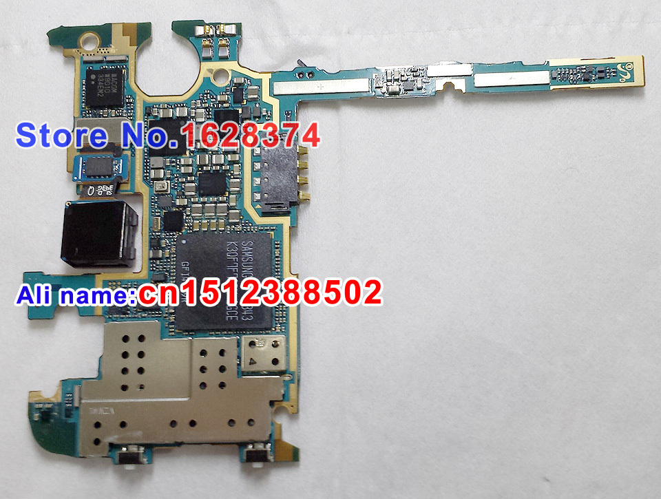 Original Unlocked U S  version motherboard for Samsung