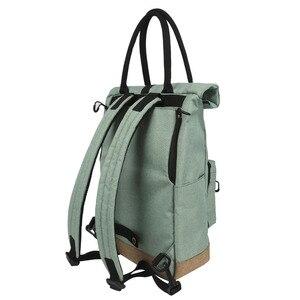 Image 3 - Tourbon Vintage Bicycle Bag Retro Bike Pannier Bags Cycling Rear Pack Seat Leisure Crossbody Shoulder Laptop Bag City Backpack