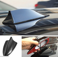Black Universal SUV Car Roof Radio AM/ FM Signal Shark Style Aerial Fin Antenna