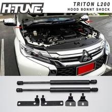 H-TUNE Передний Капот Багажник Газ Шок Стойки Заслонки Для Triton L200 05-14